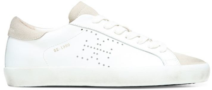 Aubrie Leather & Suede Sneakers