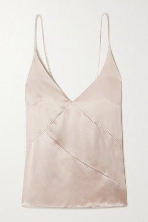 Le Kasha | Khiva silk-satin camisole | NET-A-PORTER.COM