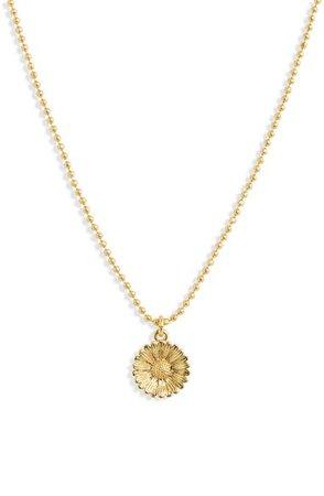 Madewell Sunflower Pendant Necklace | Nordstrom