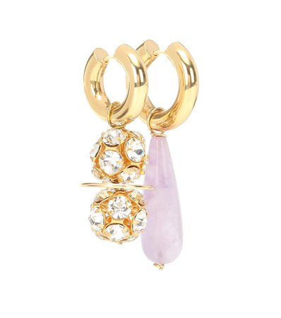 Exclusive To Mytheresa – Mismatched Gold-Plated Earrings | Timeless Pearly - Mytheresa