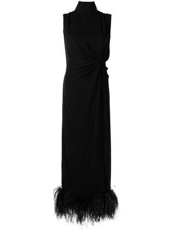 16Arlington платье Maika с перьями - купить в интернет магазине в Москве   Цены, Фото.