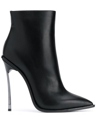 Casadei Maxi Blade 115mm Ankle Boots