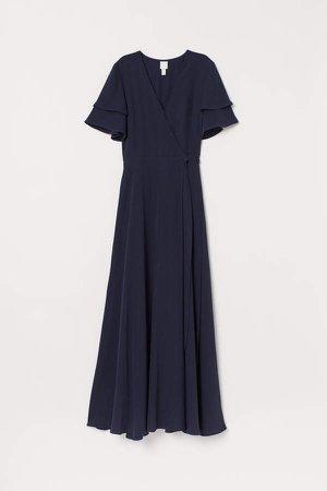 Wrap Dress - Blue