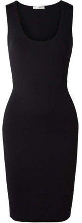 Borelle Stretch-scuba Dress - Black