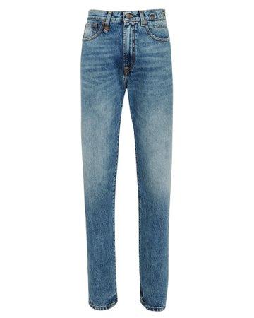 R13 Axl High-Rise Straight Leg Jeans | INTERMIX®