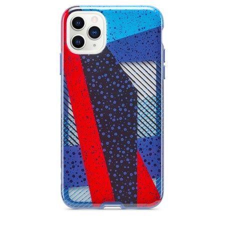 Tech21 Playful Medley Case for iPhone 11 Pro Max - Denim Blue - Apple