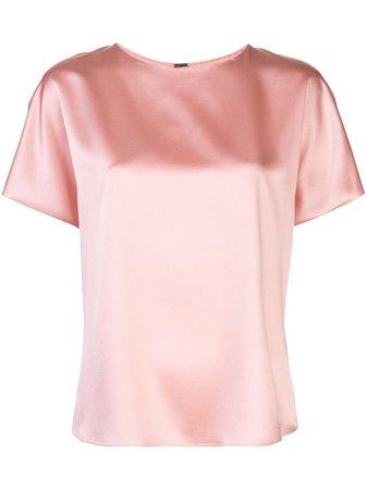 Adam Lippes Short-Sleeved Silk Blouse Ss20 | Farfetch.com