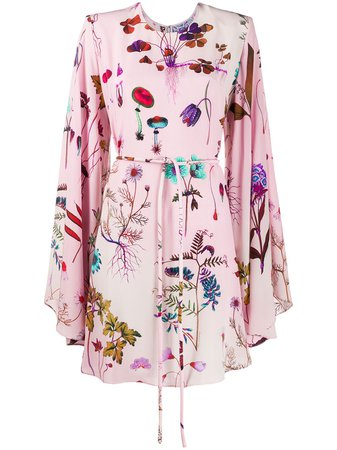 Stella McCartney Delia Silk Floral Dress - Farfetch