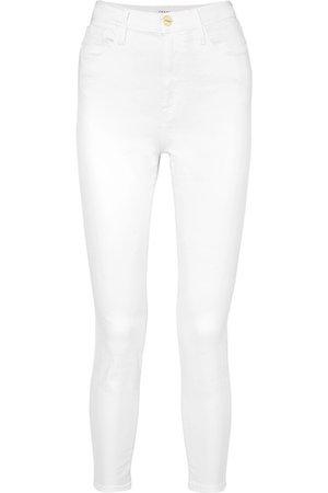 FRAME   Ali high-rise skinny jeans   NET-A-PORTER.COM
