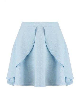 Light blue skirt