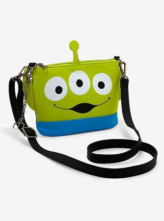 Loungefly Disney Pixar Toy Story Alien Crossbody Bag