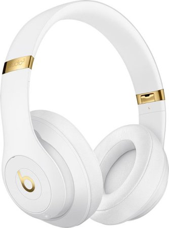 Beats by Dr. Dre Beats Studio³ Wireless Noise Cancelling Headphones White MQ572LL/A - Best Buy