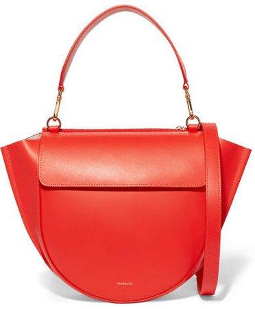 Wandler Medium Leather Shoulder Bag - Orange