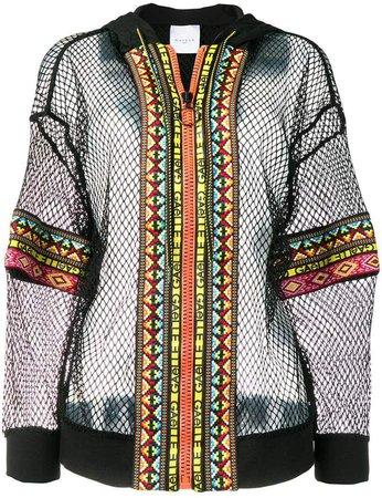 mesh hoodie