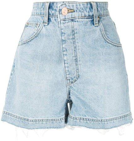 Asymmetric Distressed Effect Shorts