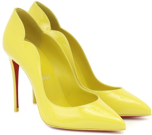 Hot Chick 100 patent leather pumps