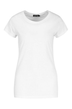 Basic Neon T-Shirt | boohoo white