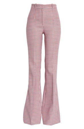 Michael Kors High Waist Flare Leg Gabardine Pants | Nordstrom