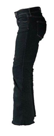 contrast stitch jeans