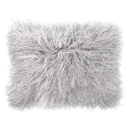 Mongolian Fur Pillow Cover | PBteen