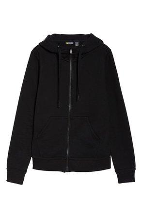 Zella Cara Full Zip Hoodie | black