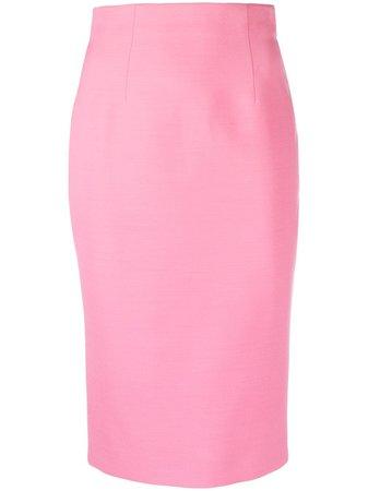 Alexander McQueen high-waist Pencil Skirt - Farfetch