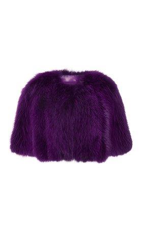 large_elie-saab-purple-amethyst-fox-fur-bolero.jpg (825×1320)
