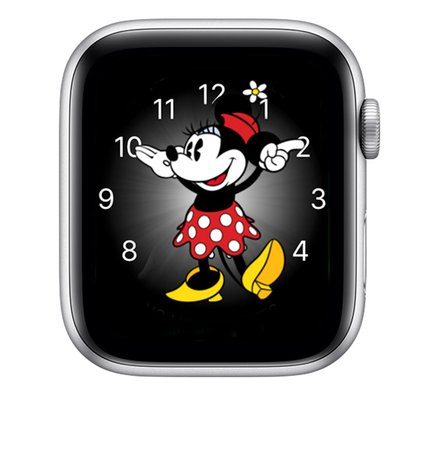 Hear Mickey Mouse or Minnie Mouse speak the time - Apple Support