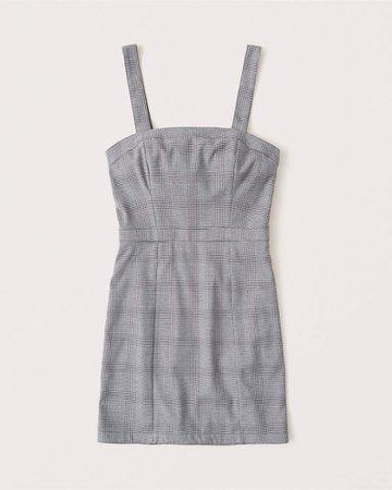 Women's Plaid Pinafore Dress | Women's New Arrivals | Abercrombie.com