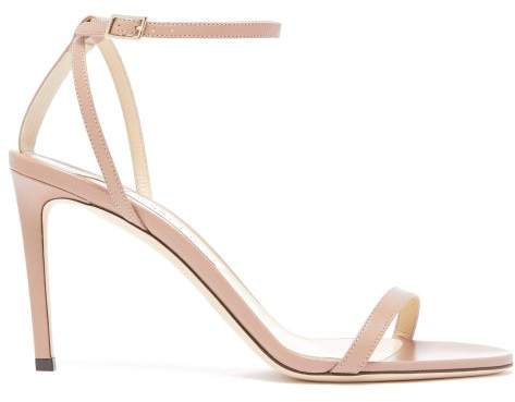 Minny 85 Leather Sandals - Womens - Nude