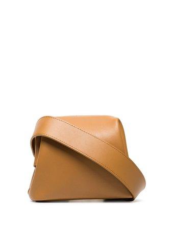 Osoi Peanut Brot Leather Belt Bag 20SB0100601 Brown   Farfetch