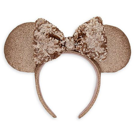 Minnie Mouse Briar Rose Gold Ear Headband