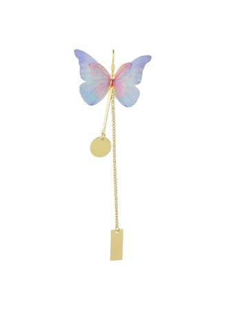 1Pc Bohemian Style Colorful Butterfly Earrings