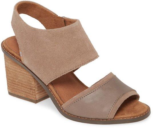 Majorca Block Heel Sandal