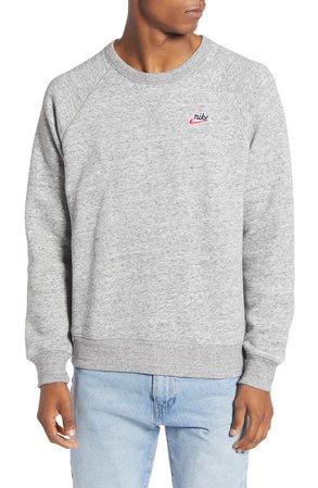 Nike Sportswear Heritage Crewneck Sweatshirt | Nordstrom