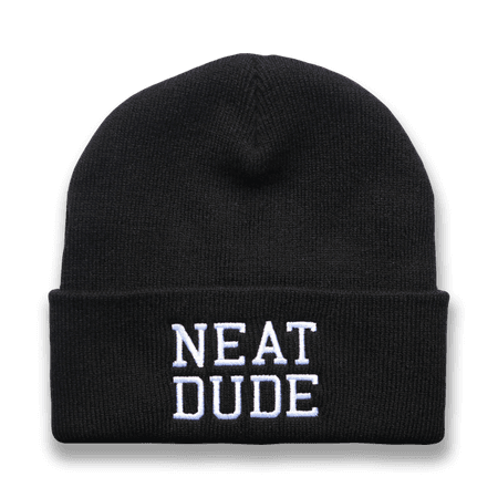Black Beanie – Neat Dude