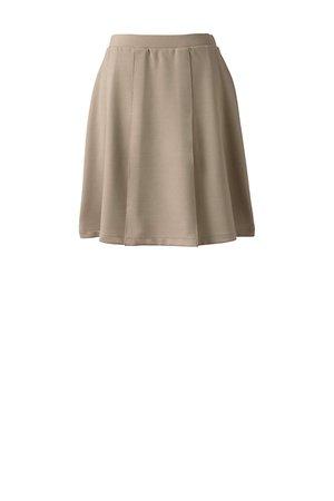 School Uniform Girls Ponte Pleat Skirt | Lands' End