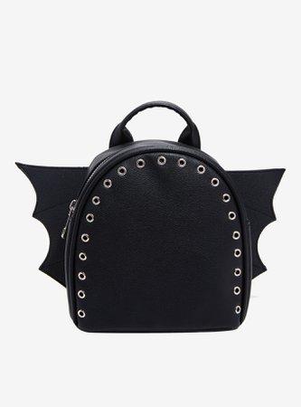 Bat Wing Grommet Mini Backpack