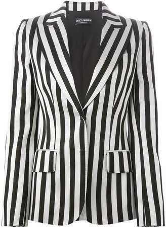 Striped Blazer Dulce and Gabbana