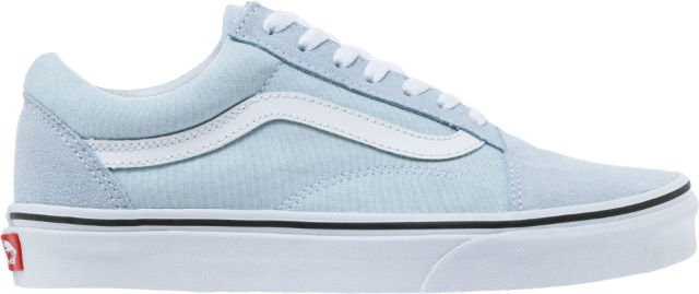 Vans VN0A38G1Q6K Old Skool Mens Skateboarding Shoe (Light Blue/White) at Shoe Palace