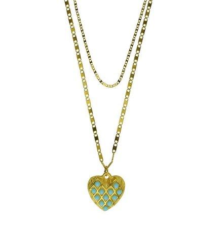 Heart Turquoise Pendant - Katerina Psoma | Shop now