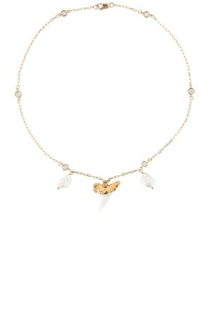 Martello Pearl Necklace