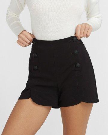 High Waisted Sailor Shorts