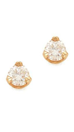 Zoe Chicco Diamond Prong Stud Earrings   SHOPBOP