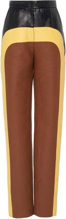 Multi Faux Leather Pants