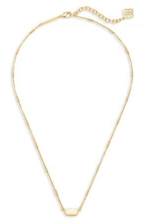 Kendra Scott Fern Pendant Necklace | Nordstrom