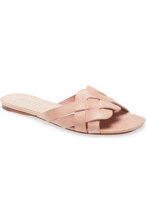 Schutz Tari Braided Slide Sandal (Women) | Nordstrom