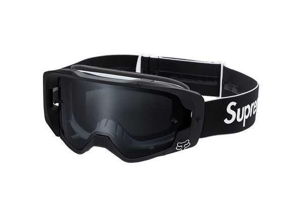Supreme x Fox Black Racing Goggles