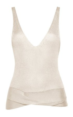 Silk-Knit Tank Top By Tom Ford | Moda Operandi