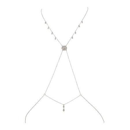 Silver Body Chain